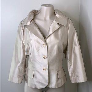 Victor costa size 14 blazer 100% silk 😍